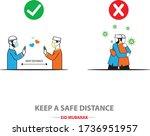 illustration vector   covid 19...   Shutterstock .eps vector #1736951957