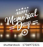 fourth july badge collection.... | Shutterstock .eps vector #1736972321