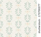 seamless retro pattern with...   Shutterstock .eps vector #173700377
