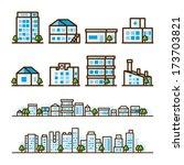 building background | Shutterstock .eps vector #173703821