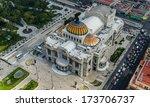 palacio de bellas artes ... | Shutterstock . vector #173706737