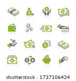 money icons    natura series | Shutterstock .eps vector #1737106424
