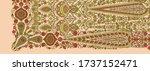 abstract decorative indain...   Shutterstock . vector #1737152471