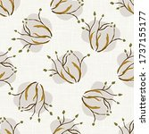 seamless woodland linden tree...   Shutterstock .eps vector #1737155177