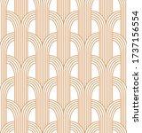 vector seamless geometric... | Shutterstock .eps vector #1737156554
