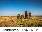 Standing Sacred Stone Monolith...