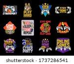 game design  mascot sport logo... | Shutterstock .eps vector #1737286541