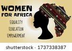 the future is female  women for ... | Shutterstock .eps vector #1737338387