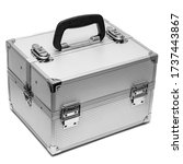 Iron Box For Cosmetics Isolated ...