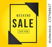 vector illustration of a sale... | Shutterstock .eps vector #1737468617