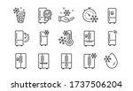 fridge line icons set....   Shutterstock .eps vector #1737506204