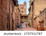 Certaldo  Tuscany   Italy  ...
