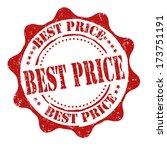best price grunge rubber stamp... | Shutterstock .eps vector #173751191
