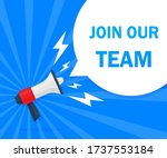 Join Our Team Concept. Badge...