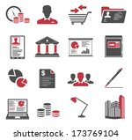 office and business icons | Shutterstock . vector #173769104