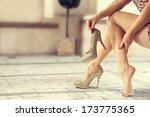 legs  | Shutterstock . vector #173775365