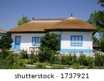 traditional house from danube... | Shutterstock . vector #1737921