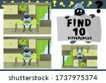 find 10 differences....   Shutterstock .eps vector #1737975374