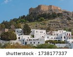Lindos Village And The...