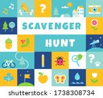 Nature Scavenger Hunt. Summer...