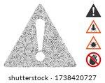 hatch mosaic warning icon...