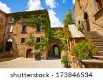main gates and buildings to... | Shutterstock . vector #173846534