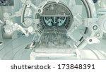 innovative medical mri table  ... | Shutterstock . vector #173848391