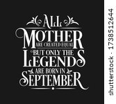all mother are equal but... | Shutterstock .eps vector #1738512644