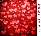 valentine's day background | Shutterstock . vector #173852897