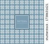 simple seamless tiled pattern...   Shutterstock .eps vector #1738631621