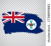 flag of  queensland brush...
