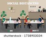 a vector design concept of...   Shutterstock .eps vector #1738903034