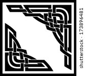 vector set of two celtic...