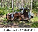 Kyrk  Mosse Car Cemetery  Sweden