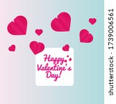 greeting card design for...   Shutterstock .eps vector #1739006561