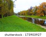 catherine s park in tsarskoe...   Shutterstock . vector #173903927