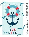 Children\'s Poster With Anchor ...