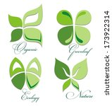 ecology icon set | Shutterstock .eps vector #173922314