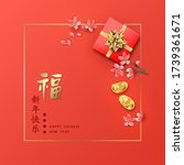 Chinese New Year Concept. Red...