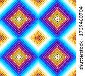 seamless background pattern.... | Shutterstock .eps vector #1739460704