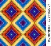 seamless background pattern.... | Shutterstock .eps vector #1739460707