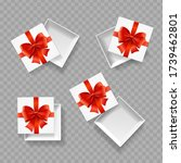 realistic detailed 3d empty... | Shutterstock .eps vector #1739462801