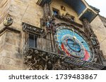 View Of Astronomical Clock In...