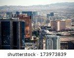 aerial view of las vegas taken...   Shutterstock . vector #173973839