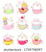 Kawaii Stickers Collection. Se...