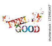 "colorful vector ""feel good""... 