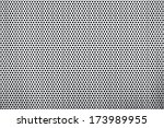 texture of a perforated metal... | Shutterstock . vector #173989955
