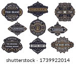 set of logos  labels and... | Shutterstock .eps vector #1739922014