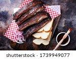 Barbeque Smoked Beef Brisket...