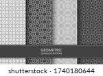 oriental ornament background.... | Shutterstock .eps vector #1740180644